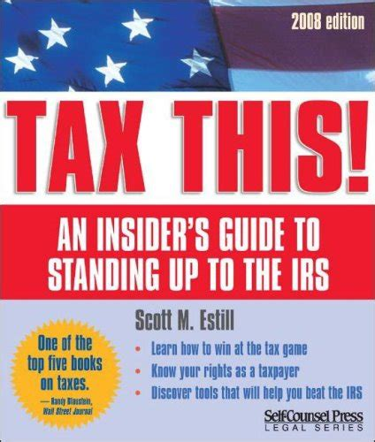 stand up to the irs books biography of author m estill booking appearances
