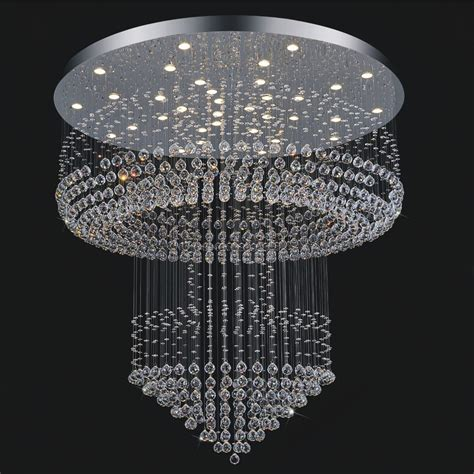 Contemporary Chandelier Lights Free Shipping Luxury Modern Chandelier Lighting Hotel Light Dia80 H200cm Large