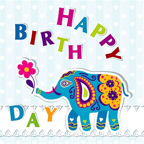 printable birthday cards elephant image gallery elephant birthday