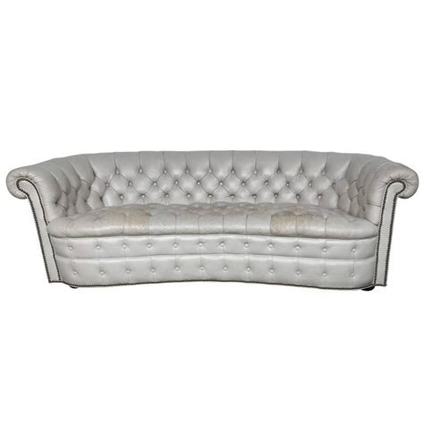 Large Chesterfield Sofa Large Vintage Regency Chesterfield Sofa For Sale At 1stdibs