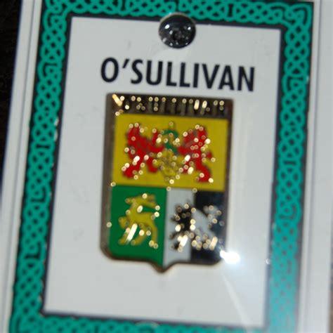 coat of arms heraldic lapel pins o sullivan pin lapel