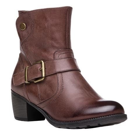 comfort boots for women propet tory women s heeled comfort boots all colors