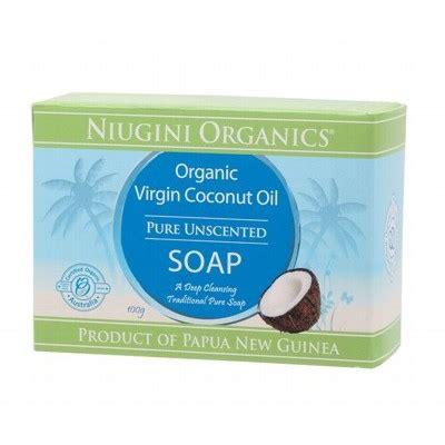 Coconut Detox Diet Australia by Organic Soap Coconut Unscented Niugini 100g