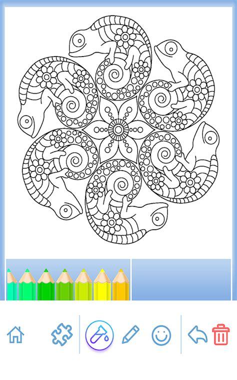 mandala coloring pages google play coloring book animal mandala android apps on google play