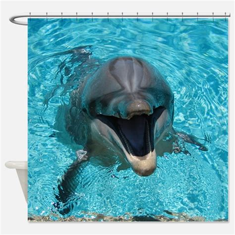 dolphin curtains dolphin shower curtains dolphin fabric shower curtain liner