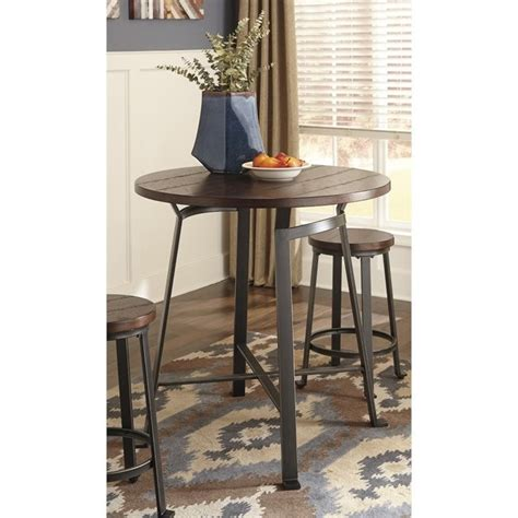 challiman counter height table challiman counter height dining table in