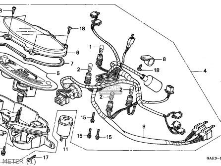 honda dio 2 wiring diagram electrical and electronic diagram