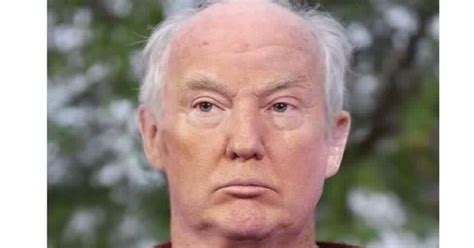 is imus bald or real hair all this is that what donald trump looks like under the