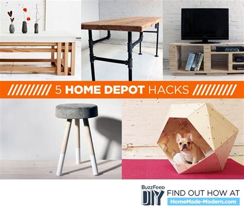 home hacks diy 5 home depot hacks