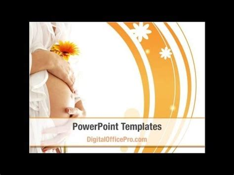 pregnancy powerpoint template backgrounds