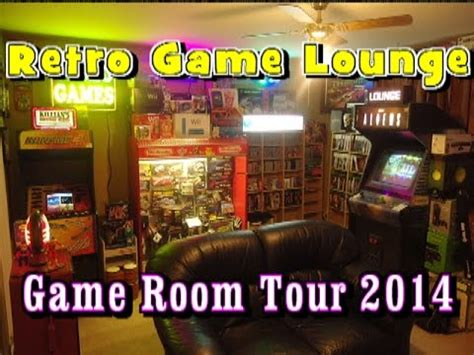 my game room and collection 2014 retro video gaming epic game room tour 2014 retro game lounge home