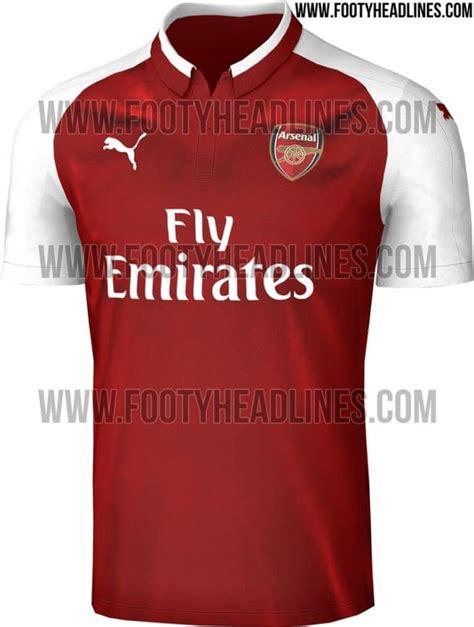 arsenal kit 2017 18 leaked arsenal s new home away goalie kits for 2017 18
