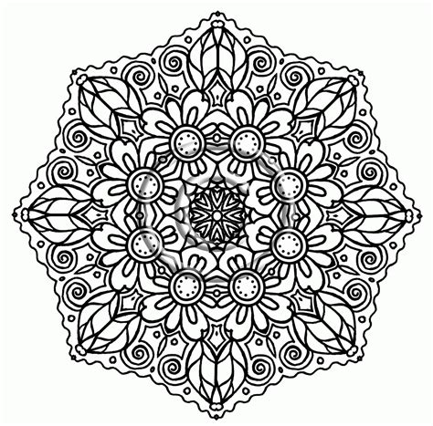 cute advanced coloring pages cute coloring pages advanced mandala coloring page