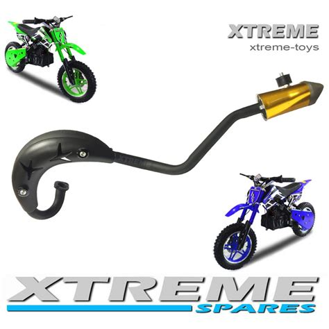 motocross bike parts uk mini moto dirt bike pit bike complete exhaust pipe set