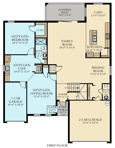 lennar homes floor plans florida liberation new home plan in gran paradiso manor homes by