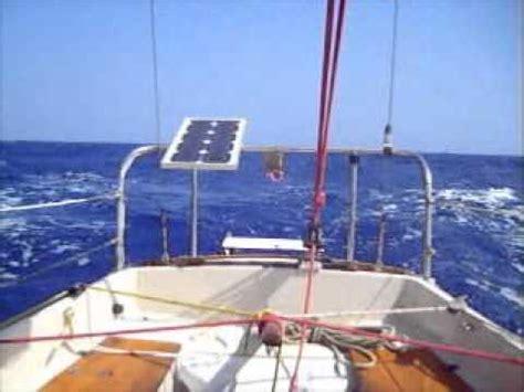 catamaran vs monohull in storm sheet to tiller ense 241 andole a timonear a un wharram doovi