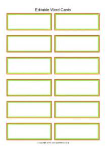 flash cards template word editable primary classroom flash cards sparklebox