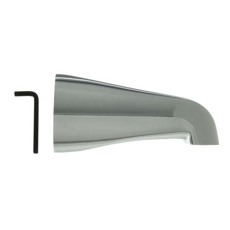 danco 1 2 in tub spout in chrome 89162 the home depot