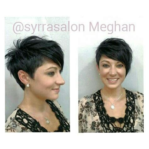 how to cut one side shorter and the other longer haircuts asymmetrical pixie fingers and the o jays on pinterest