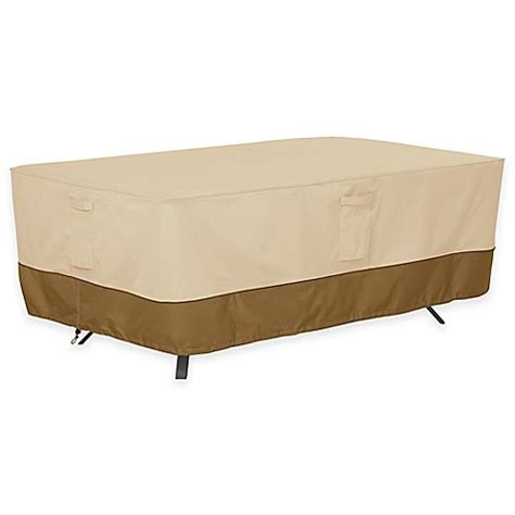 Large Patio Table Cover Buy Classic Accessories 174 Veranda Large Rectangle Oval Patio Table Outdoor Cover From Bed
