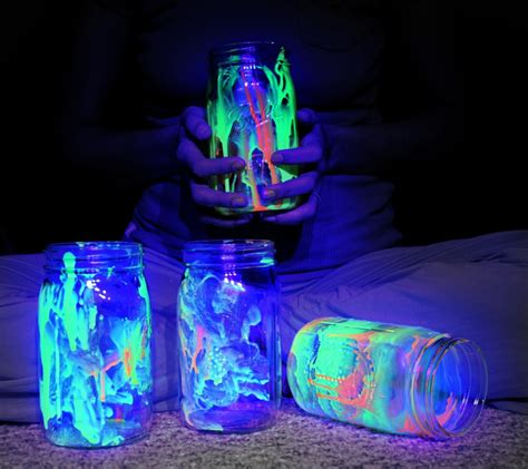 diy glow jars glow jars diy project
