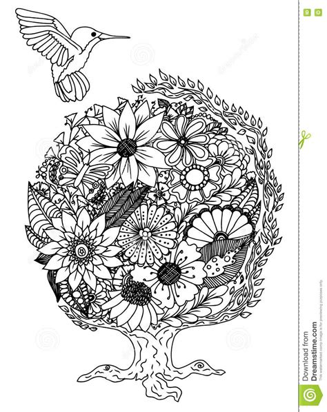 z coloring book for and adults 40 illustrations books vector illustration decorative bird on white background