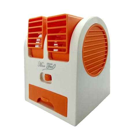 Kipas Angin Ac Semarang jual mini fan blower kipas angin ac orange