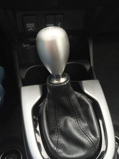 shift knob and direct injection noise unofficial honda