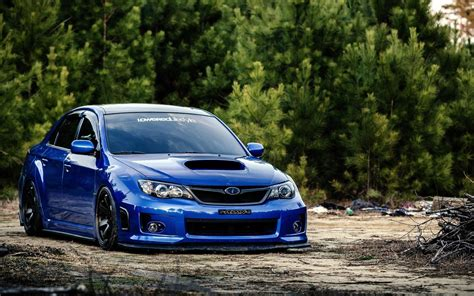 subaru impreza wrx sti car tuning wheels hd desktop