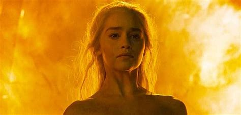 khaleesi bathtub game of thrones emilia clarke says no body double for
