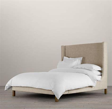 restoration hardware beds wingback bed restoration hardware master bedroom