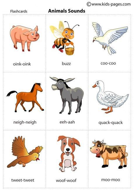 printable animal farm quiz animal sounds printable flash cards for practicing during
