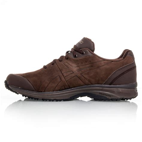 asics gel odyssey 2e mens walking shoes brown