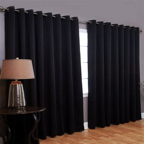 how to blackout curtains best home fashion thermal blackout curtain with wide width