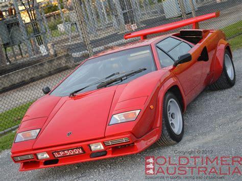 Lamborghini Countach Australia Lamborghini Countach Lp5000 Quattrovalvole Oldtimer