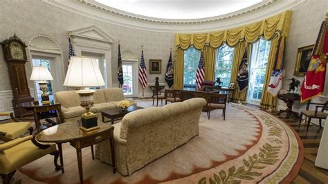 from fdr to trump how the oval office decor has changed here s how the renovated white house looks ps donald