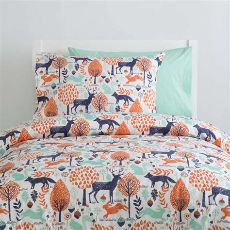 navy and orange bedding navy and orange woodland kids bedding carousel designs