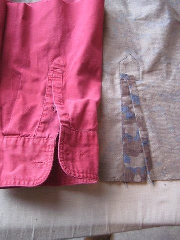 learning to sew a shirt placket cut it out stitch it up placket cuff learning sewing burdastyle com