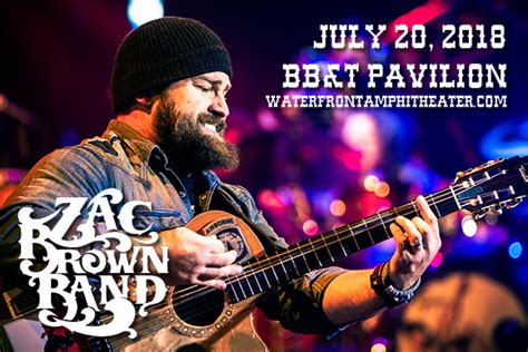 zac brown band fan zac brown band tickets 20th july bb t pavilion at