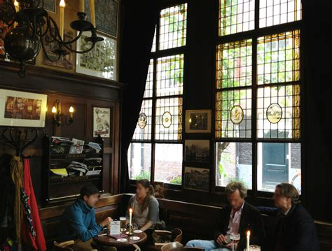 brown cafe t smalle traditional authentic amsterdam brown cafe conscious travel guide