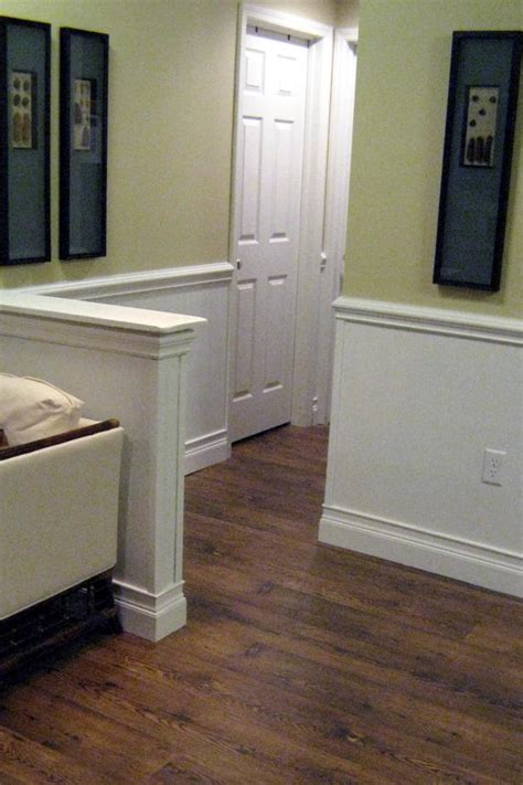 Installing Wainscoting Trim How To Install Beadboard Wainscoting Hgtv