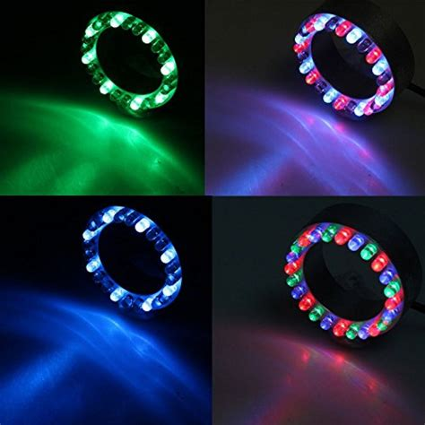 submersible led light ring 24 rgb color changing led submersible ring