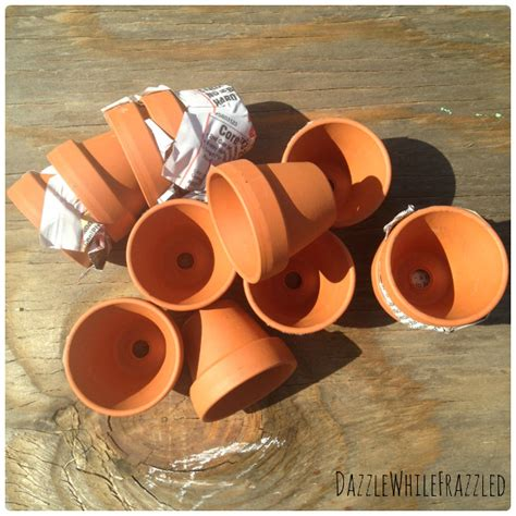 terra cotta crafts miniature terra cotta flower pot wreath think crafts by