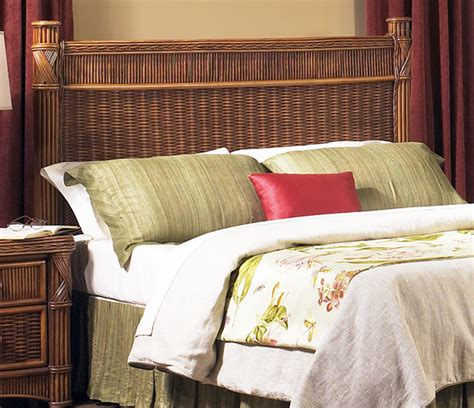 rattan headboards for queen beds rattan queen headboard barbados wicker paradise