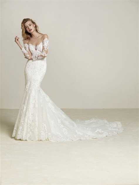 brautkleider pronovias pronovias wedding dresses style designer gowns essex
