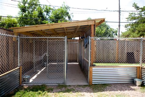 landscape architecture pictures of home kennels