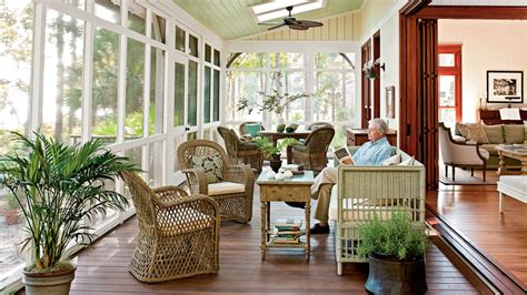 fireplace mantel cover southern living screened porch lowcountry style house southern living