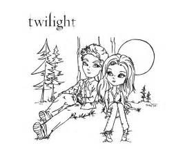 twilight color coloring pages of twilight coloring home