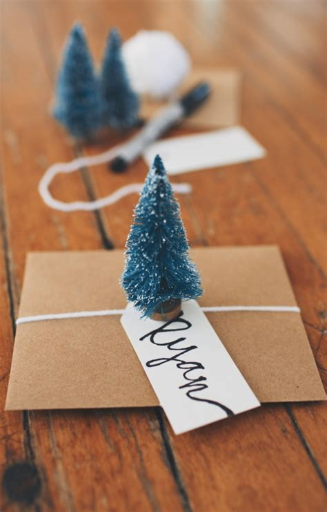 simple diy christmas place cards gimme  oven