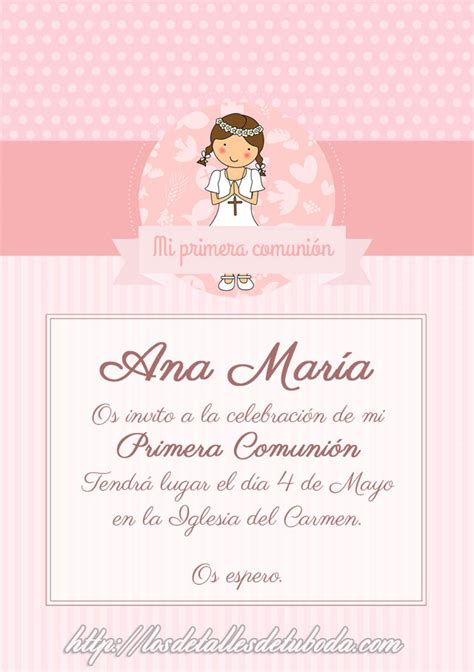 4 tipos de invitaciones para tu comuni 243 n marla comuniones comuniones archives de los detalles de tu boda